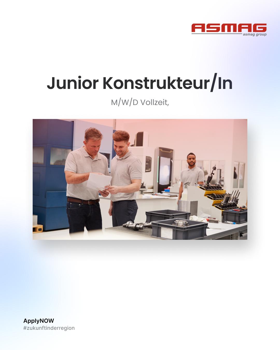 Junior Konstrukteur/in